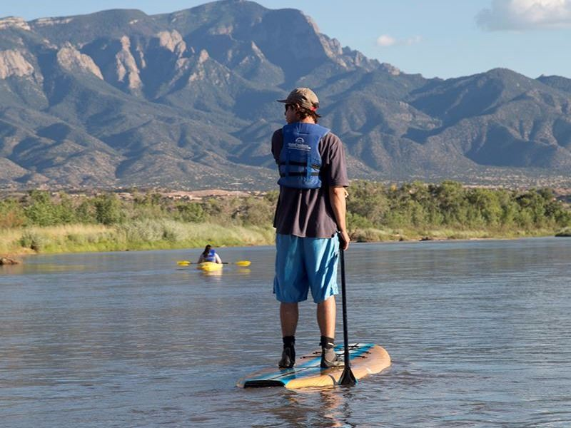 Quiet Water Stand Up Paddle Boarding